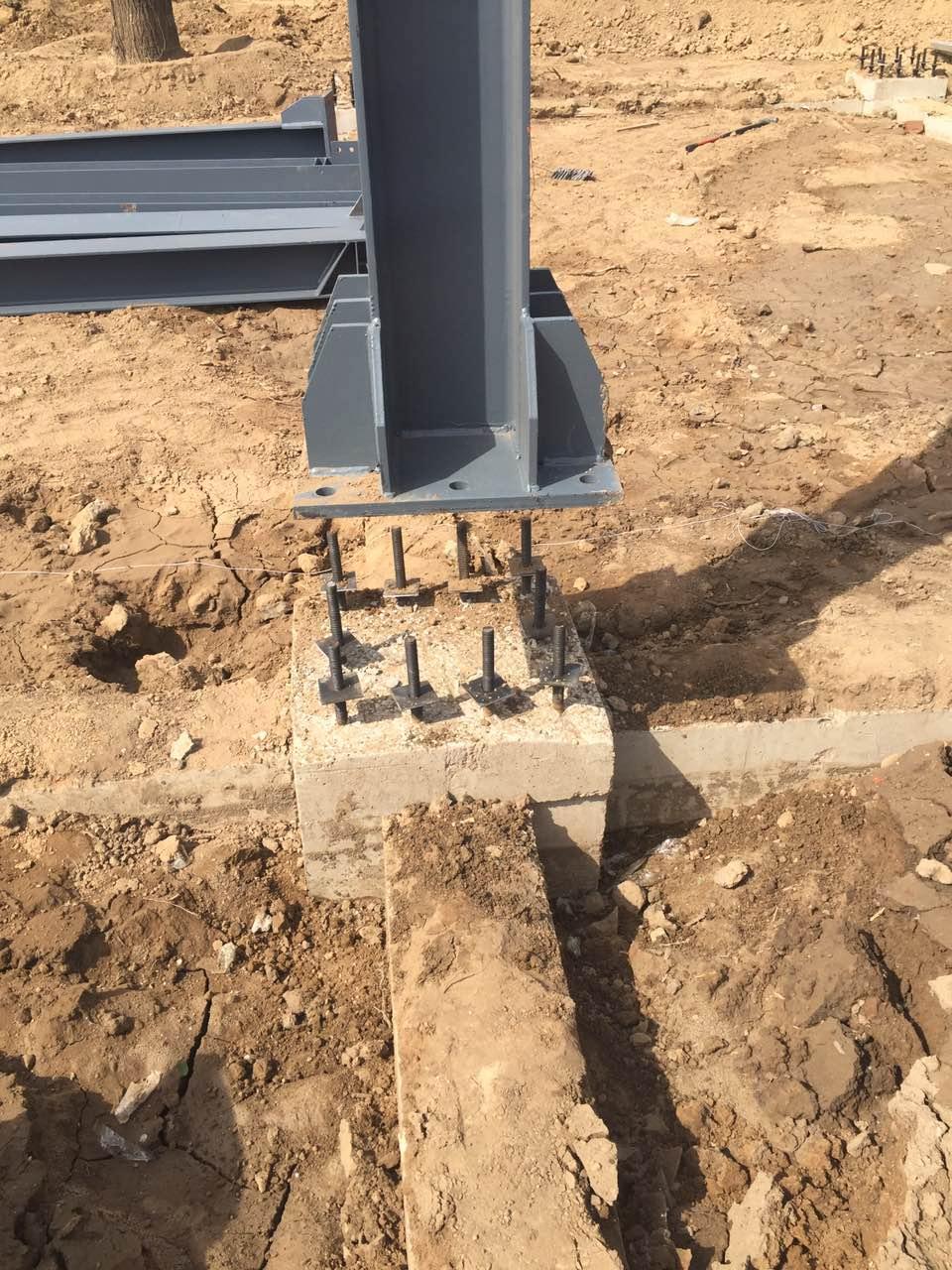 钢结构建筑柱脚出现问题应该如何补强措施